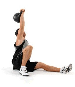 kettlebell turkish get-up