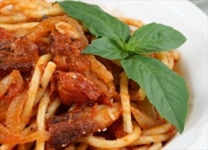 sugo all'amatriciana