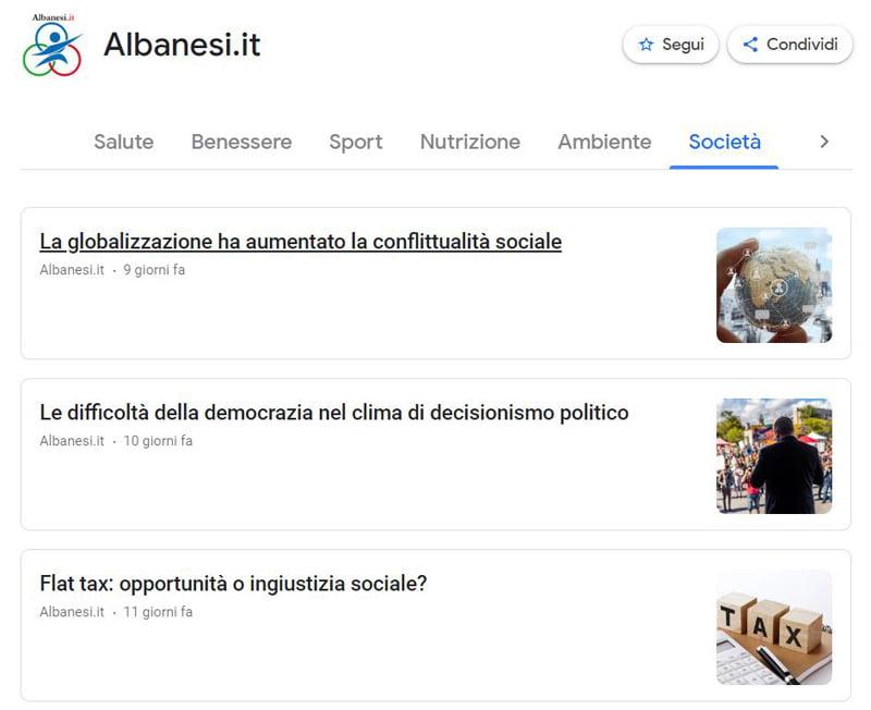 news di albanesi.it