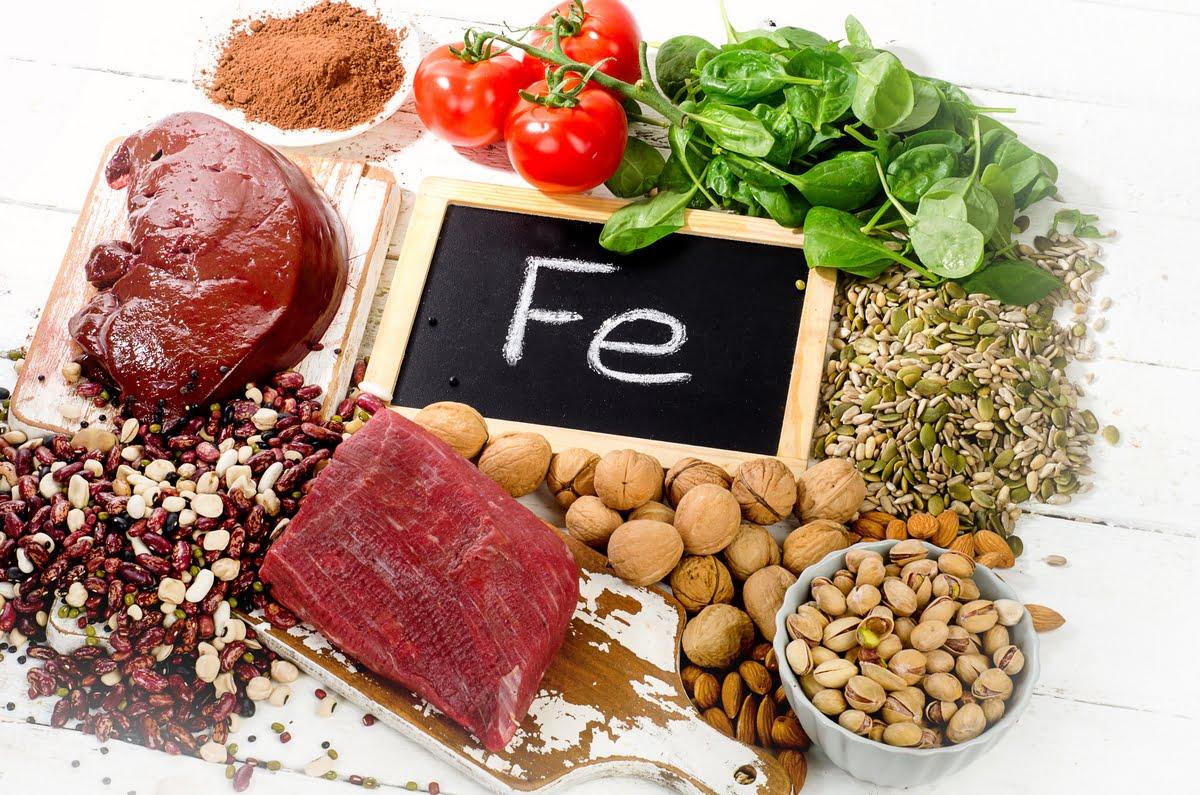 Carenza di ferro e sideremia bassa: come assumere più ferro con la dieta